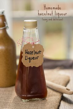 homemade hazelnut liqueur homemade hazelnut liqueur so easy and so ...