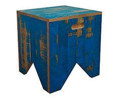 Banco rustic - space - 40x40cm