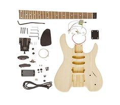 Lesson Videos Watches Printing Videos Architecture Home Info: 2486910382 Guitar Diy, Music Guitar, Electric Guitar Kits, Electric Guitars, Guitar Building, Guitar Lessons, Wood Colors, Music Is Life, Acoustic