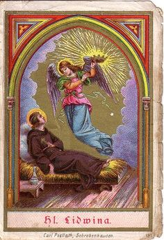 Saint Of The Day – St. Lidwina Of Schiedam