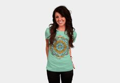 New vector mandala pattern available now .Search Redbubble , Society6