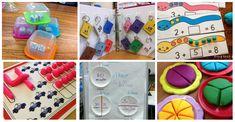 30 Nuevos Juegos matemáticos para trabajar conceptos lógico matemáticos Touch Math, Kids Rugs, Diy Crafts, Holiday Decor, Montessori, Engineering, Science, Building, Educational Activities
