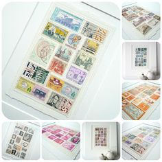 beedesigns - never thought of doing this but I have bags of old stamps so I guess I'll be getting them out in the near future