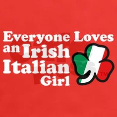 Everyone Loves an Irish Italian Girl @Trish Papadakos - DAiSYS & dots Vincent @Lauren Davison Davison Vincent @Mary Powers Powers-Elizabeth Vincent