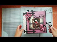 Tutorial Scrapbook, Mini Albums, Layout, Stamp, Deco, Youtube, Day Planners, Crates, Cards