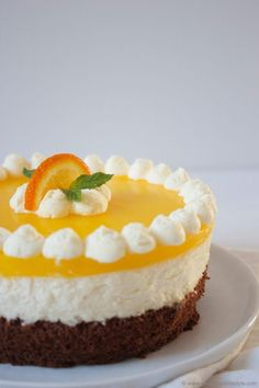 Schoko Topfen Orangen Torte von Sweets and Lifestyle