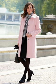 3/4 Length Wool Coat: Classic Women's Clothing from #ChadwicksofBoston $79.99 - $109.99
