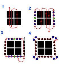 Free Tila Beads Patterns http://beadsmagic.com/?p=1598
