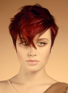 pixie haircut with wispy bangs - Google Search