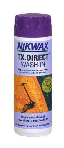 Nikwax TX.Direct Wash-in Imperméabilisant pour vêtements de pluie, en machine ou à la main - 300 mL Nikwax http://www.amazon.fr/dp/B00JQDQM86/ref=cm_sw_r_pi_dp_NLWnub0D9ZKAK