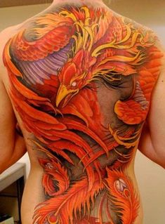 Phoenix Back Tattoos For Women - Tattoo Designs Piercing Body Art . Back Tattoos, Great Tattoos, Beautiful Tattoos, Body Art Tattoos, Tattoos For Guys, Tattoos For Women, Tatoos, Badass Tattoos, 3d Tattoos