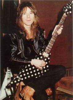 Randy Rhoads ...wow, I've never seen this picture!