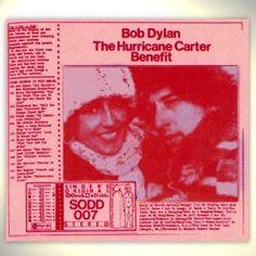 Bob Dylan The Hurricane Carter Benefit SODD 007