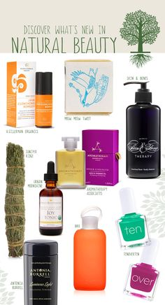 New Natural Beauty Products