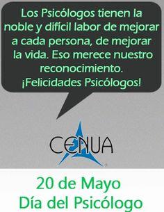 Día del Psicólogo felicidades alumnos, egresados y docentes de Psicología