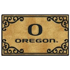 University of Oregon Doormat - Actually shouldn't a Duck fan have either Oregon State of Washington for their doormat?