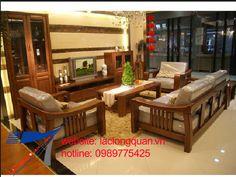 sofa gỗ xoan đào 007
