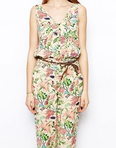 Image 3 ofHilfiger Denim Floral Jumpsuit