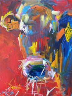 Pauline Gough: Mixed Media Art. www.artfind/... www.mangawhaiarti... © Pauline Gough. This image may not be reproduced or copied in whole or part without prior consent of the owner. All rights reserved.  Hay for Tea, acrylic on boxed canvas, 40 x 50cm SOLD