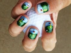 Golf themed