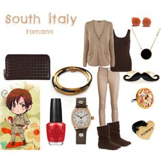 """""""S. Italy"""" by casualanime on Polyvore"""