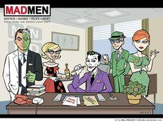The Line It Is Drawn: Arkham Asylum/Mad Men Mashup