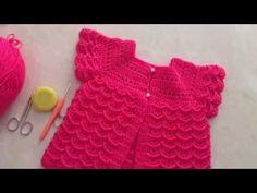 Tığ işi Bebek yeleği yıpılışı karnabahar Modelli - YouTube Crochet Bebe, Free Crochet, Baby Registry List, Amazon Baby, Crochet Baby Clothes, Baby Booties, Baby Wearing, Baby Knitting, Baby Dress