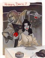 Rumpel as Hades and Belle as pereshone