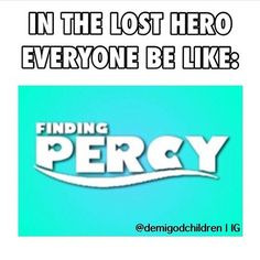 finding percy