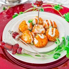 Crockpot Buffalo Chicken Meatballs with Blue Cheese Dressing... | Jo Cooks | Bloglovin'