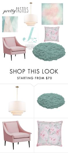 """""""Pretty pastels"""" by pamela-802 ❤ liked on Polyvore featuring interior, interiors, interior design, home, home decor, interior decorating, Sandberg Furniture, pasteldecor and prettypastels"""