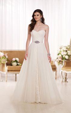 Wedding Dresses | A Line Lace Wedding Dress | Essense of Australia