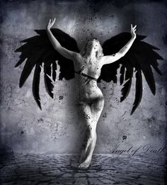 angel... fallen angels.... vanquished.... in agony