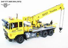Lego DAF Truck Remote Control Technic Lego Truck, Tow Truck, Lego Crane, Classic Lego, S Brick, Lego Worlds, Lego Models, Ride On Toys, Cool Lego