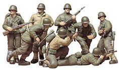 Tamiya - 35048 - Maquette - Infanterie Us Deuxième Gm Front Européen Tamiya Models, United States Army, North Africa, Us Army, Wwii, Military, Pets, Theater, Model Kits