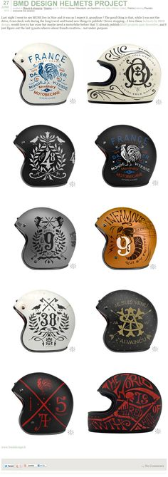 BMD Design Helmets Project