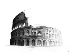 The Colosseum by Alexis Marcou - Dribbble