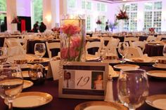 Age Table Numbers at The Patrick C Haley Mansion Event Lighting, Wedding Events, Weddings, Chicago Wedding, Table Numbers, Wedding Centerpieces, Big Day, Dream Wedding, Table Settings