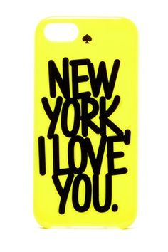 new york i love you iPhone 5 case