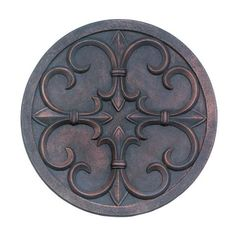 Fleur-De-Lis Garden Or Patio Wall Plaque