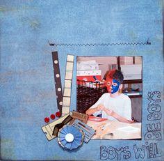Boys will be Boys - Scrapjazz.com