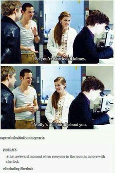 Including Sherlock x)  I ship Sheriarty :)