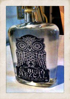 El Buho Mezcal.   Tasty stuff.