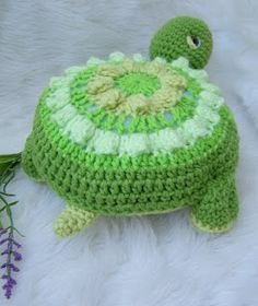 Granny circle turtle... love this!!