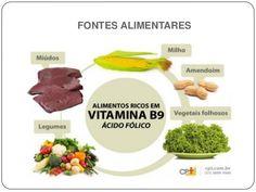 alimentos fontes de ácido fólico - Pesquisa Google