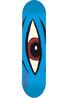 Toy-Machine Sect-Eye, Deck, blue Titus Titus Skateshop #Deck #Skateboard #titus #titusskateshop