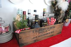 Tour of Our Nest – Christmas Style easy Christmas drink bar
