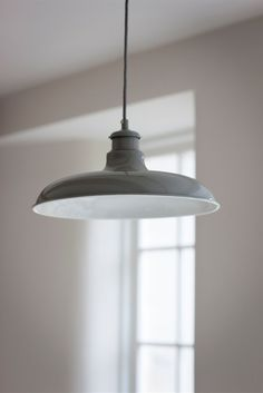 You can get your gray fix in a lighting fixture, either traditional or contemporary.    ---  Toulon Pendant Light in Flint at Garden Trading