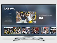 Patriots Video for tvOS