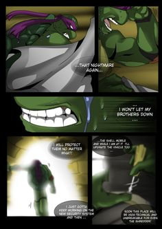 TMNT (fanmade) Same as it never was Aftershock _5 by FleshCreature on DeviantArt